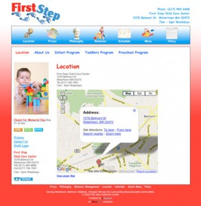 First Step Childcare Center