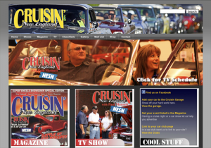 Cruisin New England Magazine and TV Show